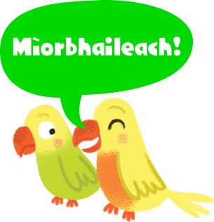 Illustration: two birds with one saying 'marvellous!'
