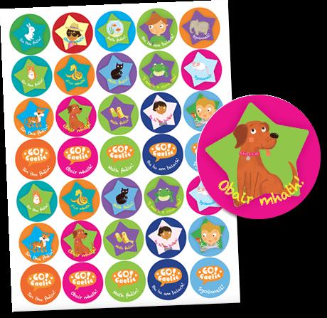 Go!Gaelic Stickers